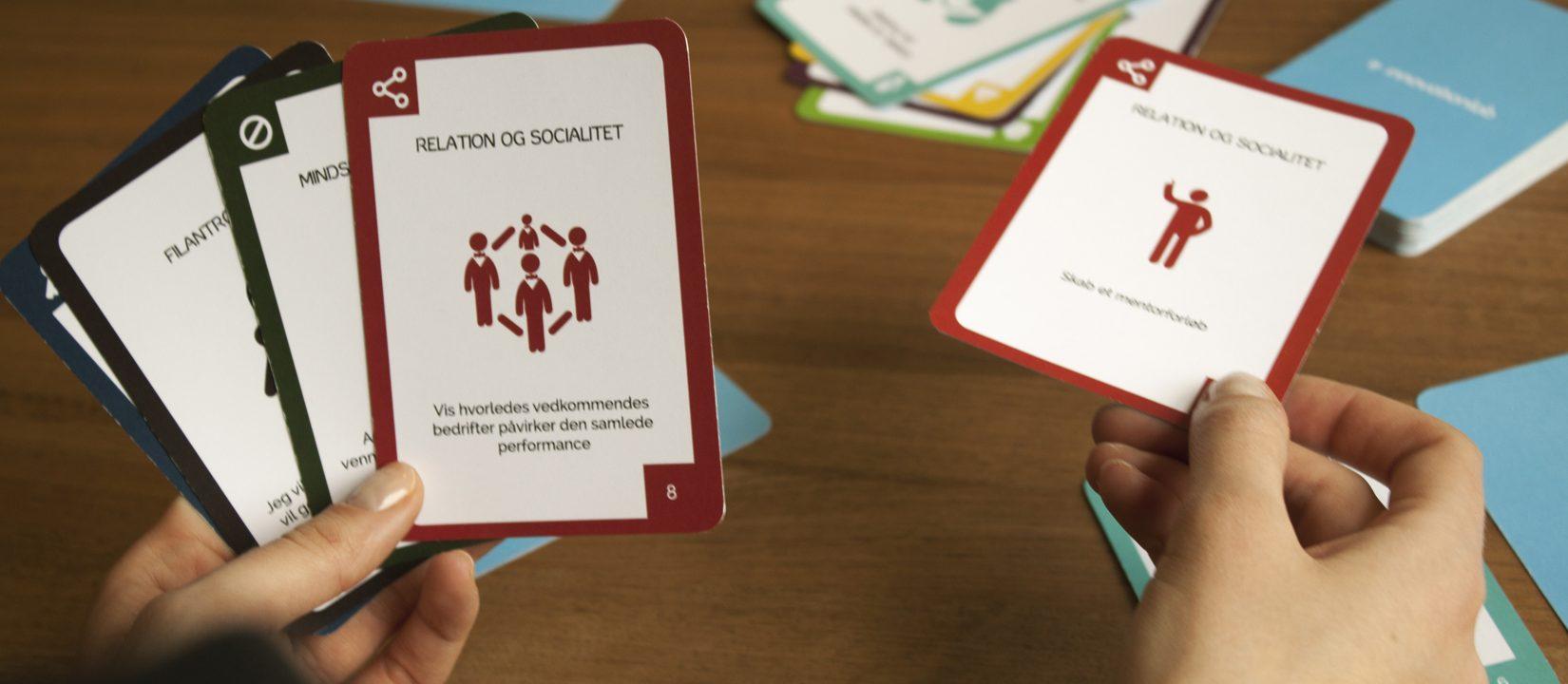 gamification kort spil workshop hands-on innovation metode professionel facilitering