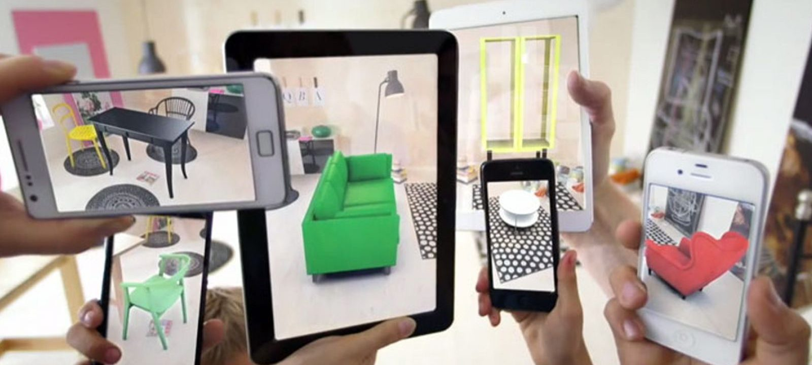 augmented reality og virtual reality i kontor