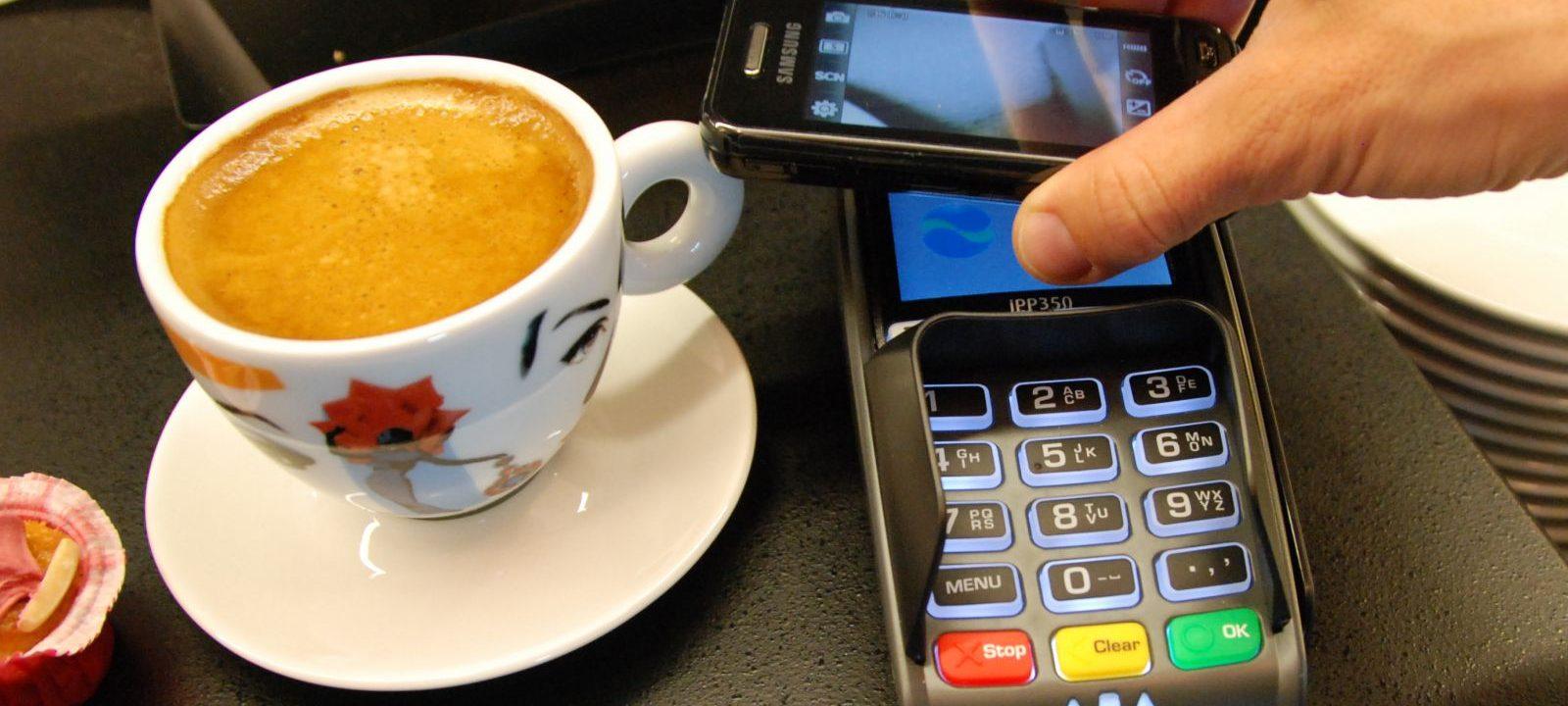 NFC betaling kontaktløst samfund
