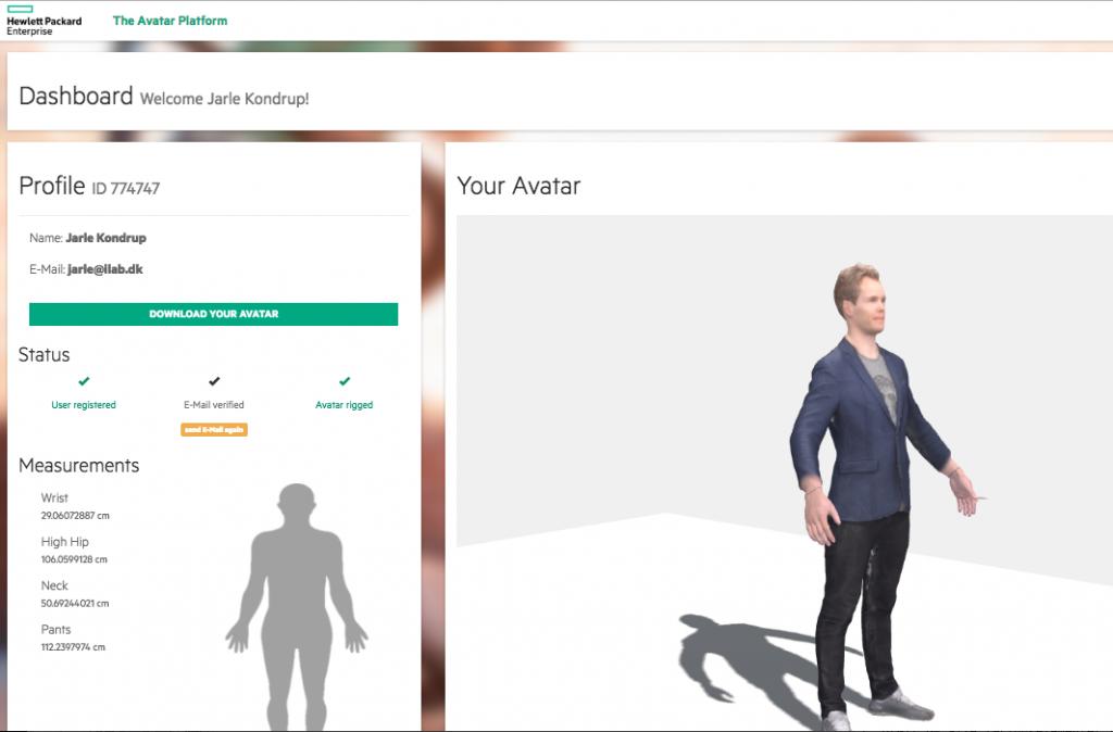 fremtidens detail og retail handel avatar
