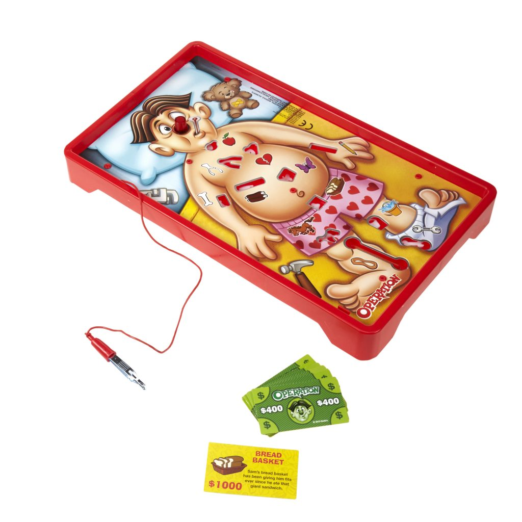 The game called Operartion from Hasbro