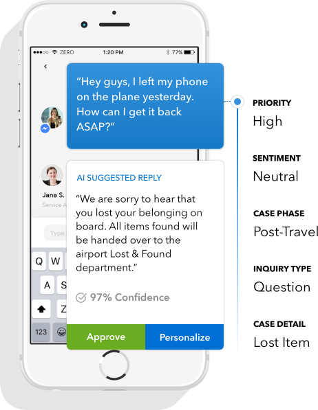 KLM customer response ai bot chatbot confidence forecasting digitalgenious customer service trend kundeservice