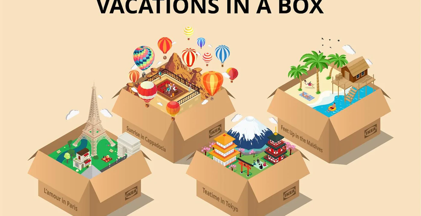 Bæredygtig-turisme-trends-IKEA-Vacations-in-a-box