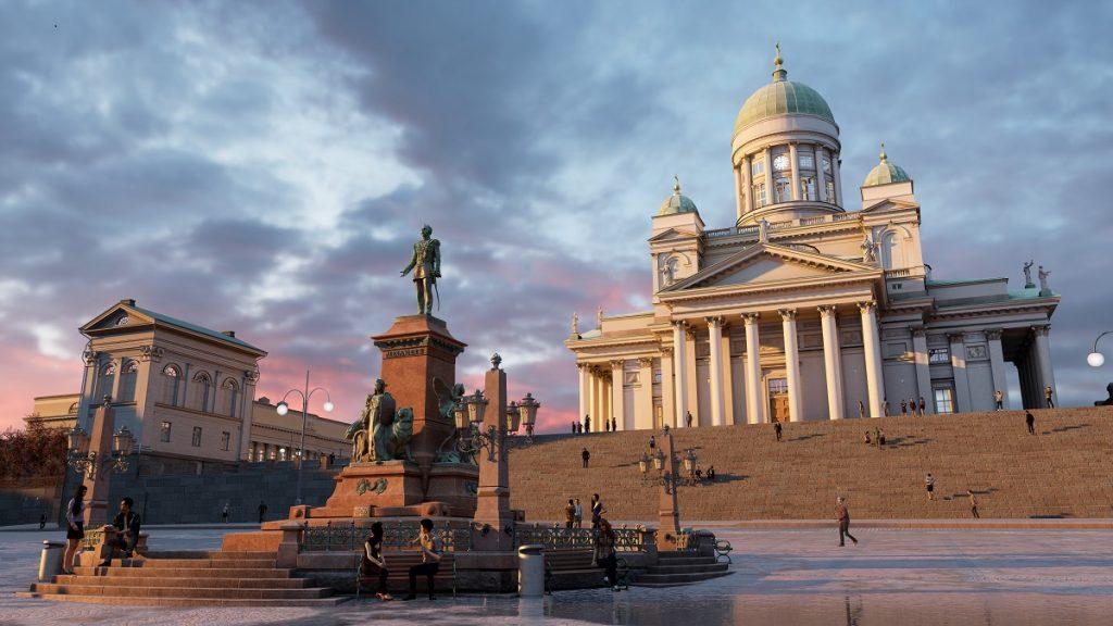 Virtuel turisme VR trends innovation lab jarle fink kondrup turismeudvikling Virtual reality -Helsinki senate plads